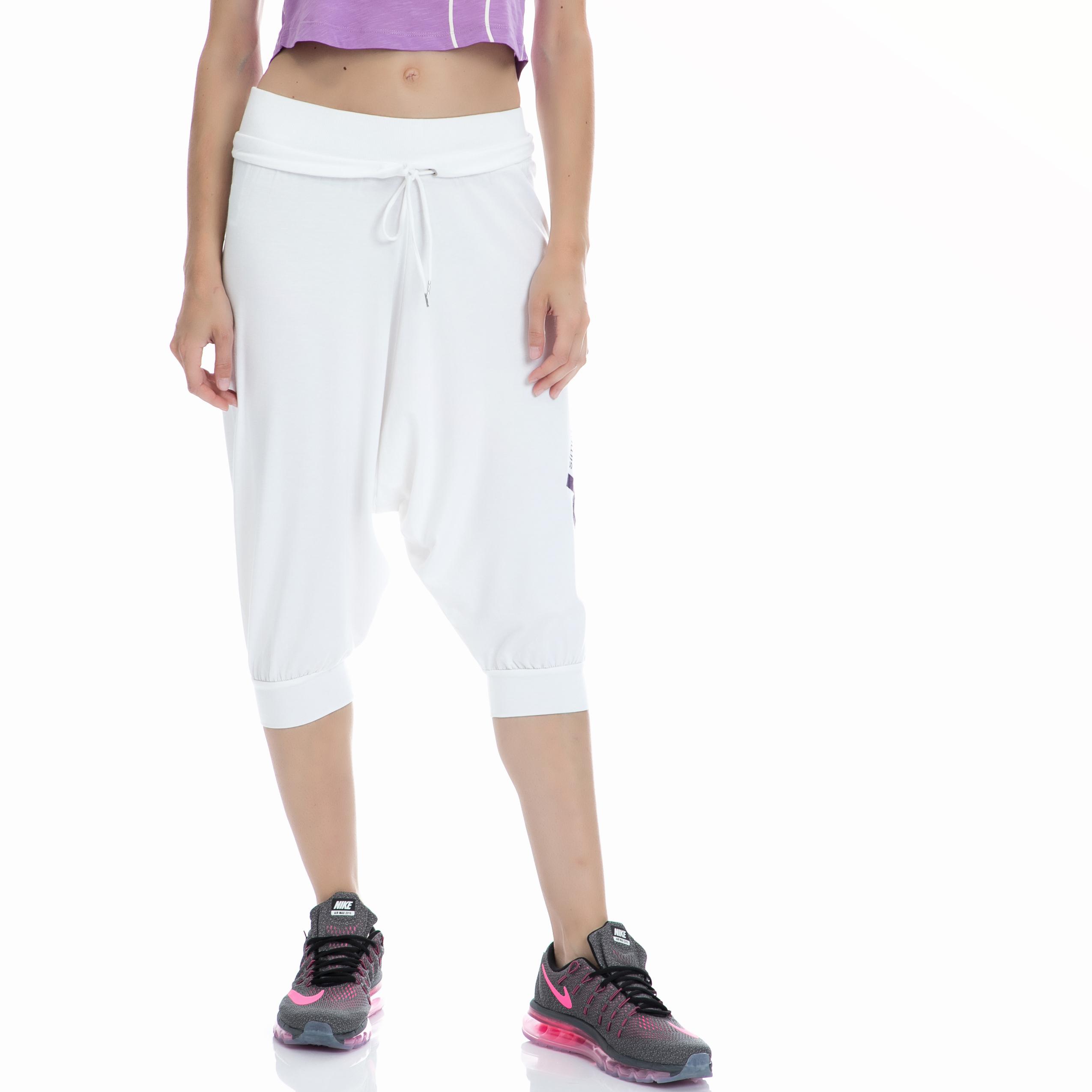 BODYTALK - Γυναικείο παντελόνι BODYTALK άσπρο γυναικεία ρούχα παντελόνια φόρμες