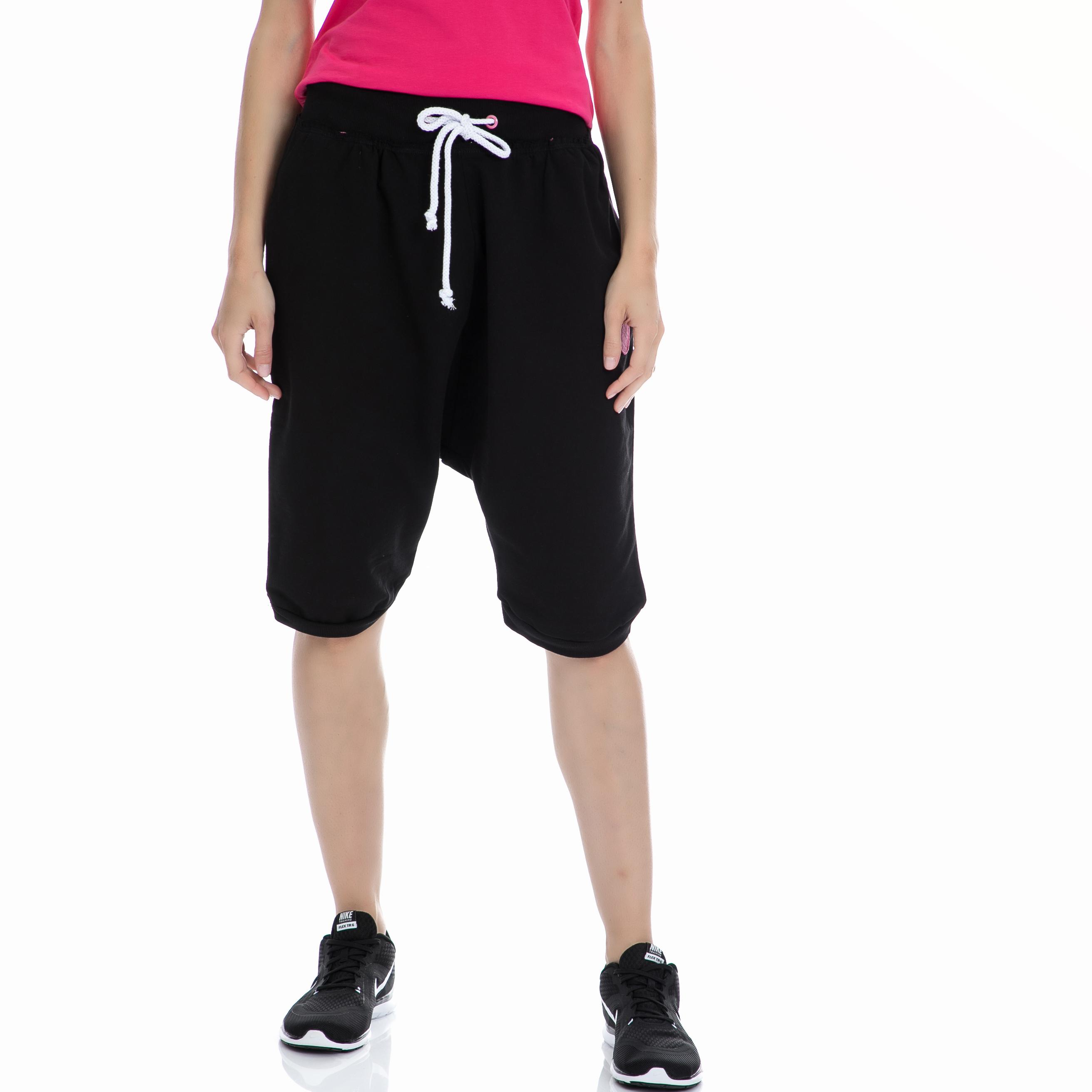 BODYTALK - Γυναικεία βερμούδα BODYTALK μαύρη γυναικεία ρούχα σορτς βερμούδες αθλητικά