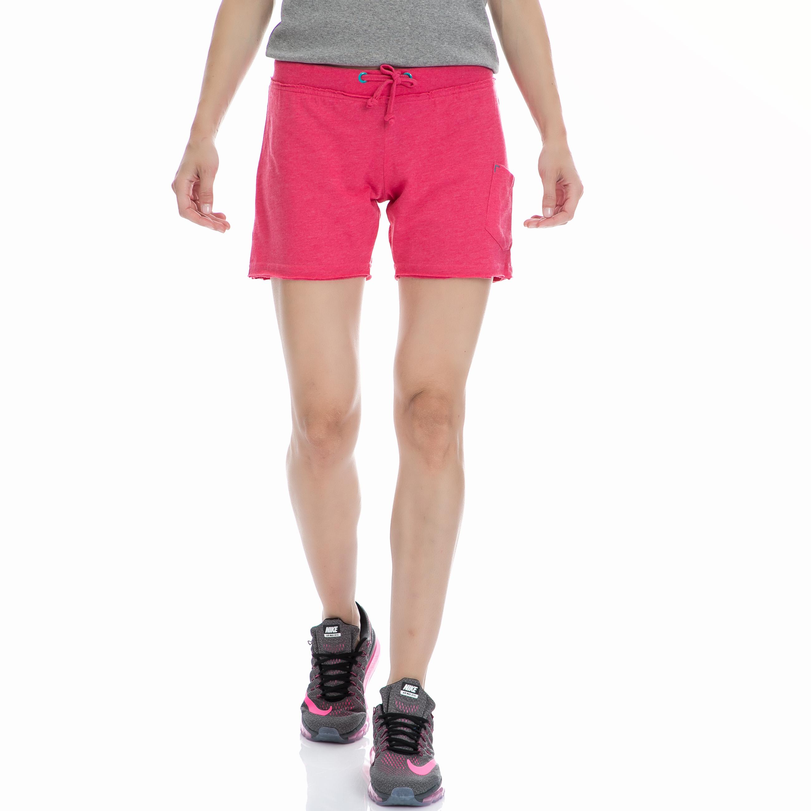 BODYTALK - Γυαναικείο σορτς BODYTALK ροζ γυναικεία ρούχα σορτς βερμούδες αθλητικά