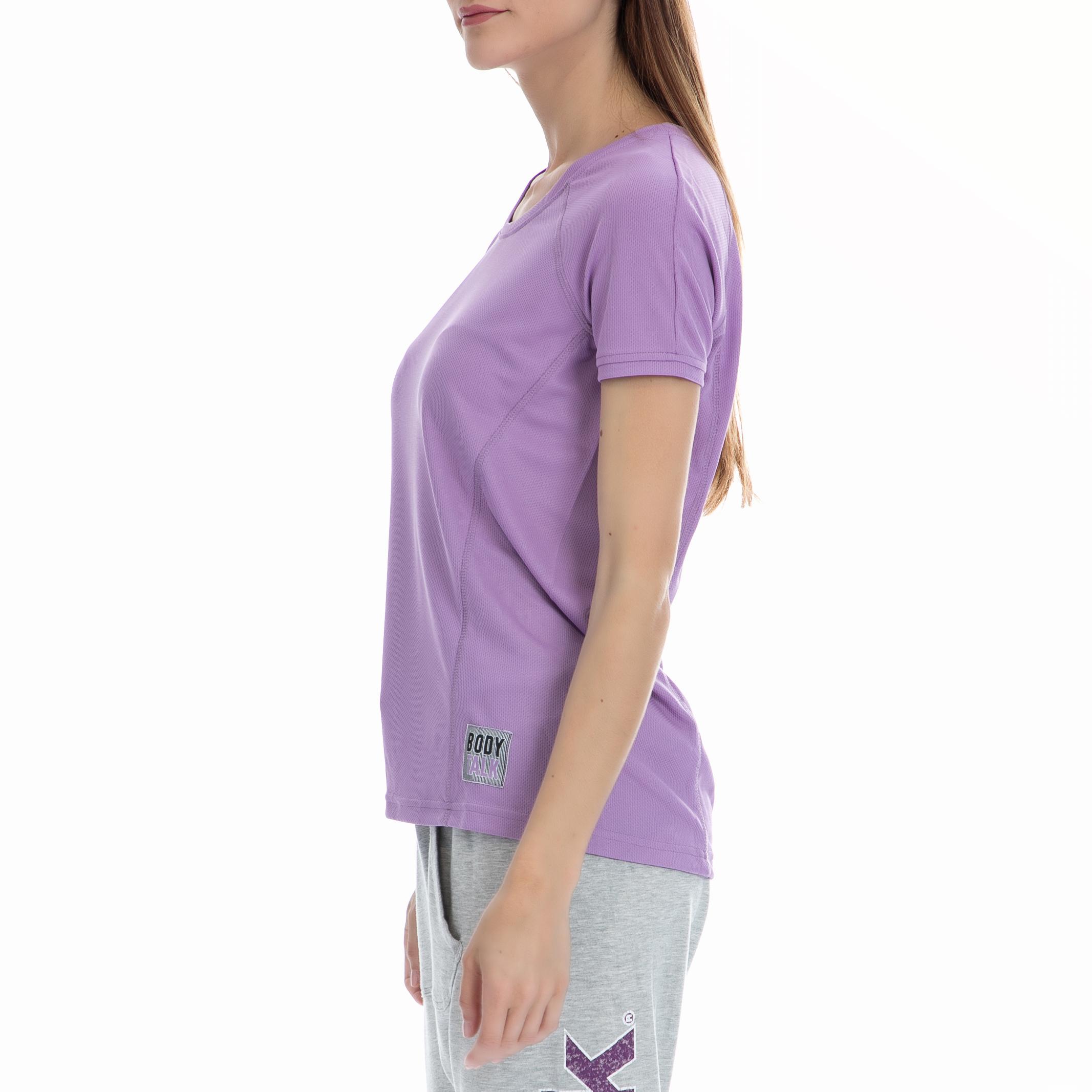 7e10e563c8e0 BODYTALK - Γυναικεία μπλούζα BODYTALK μωβ