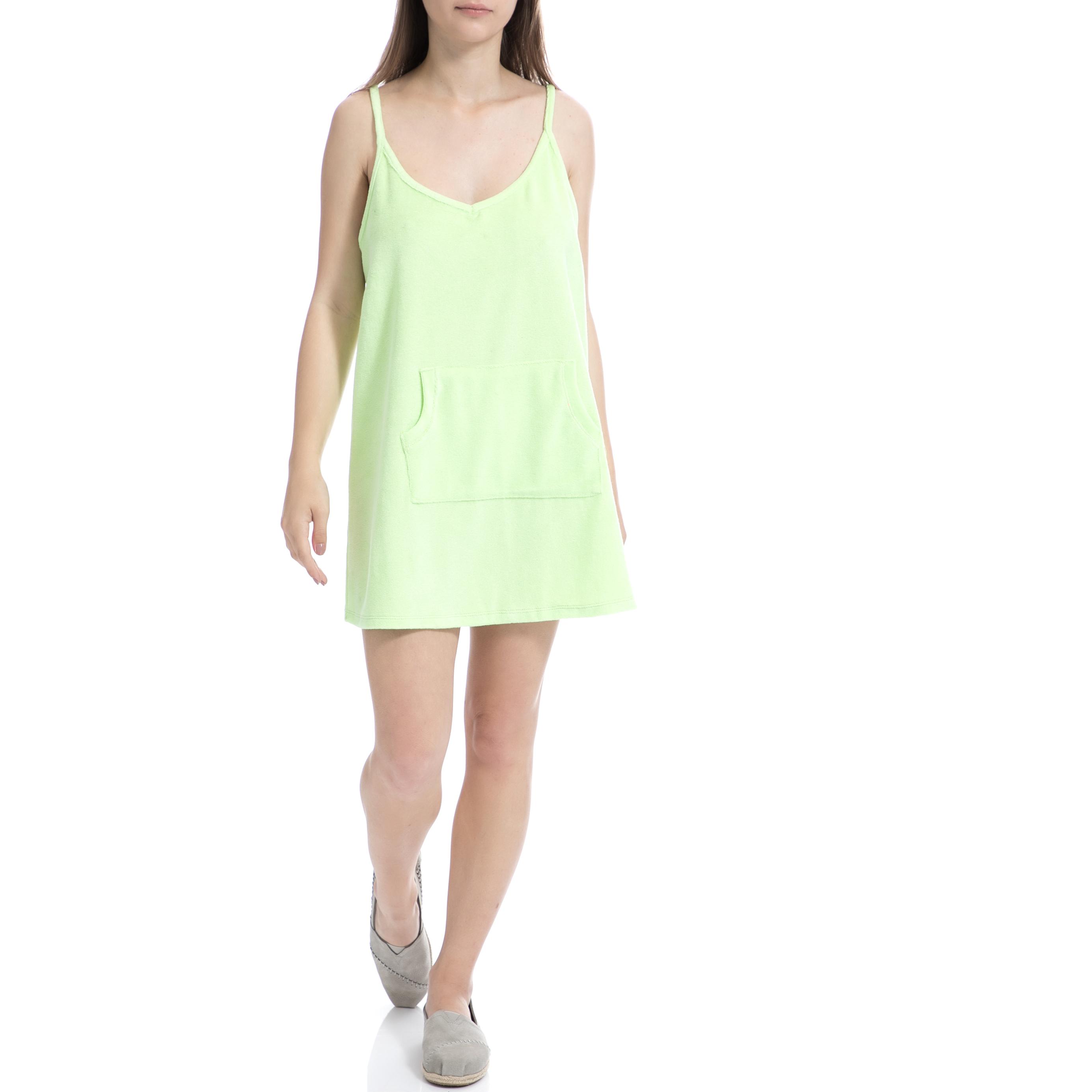 MYMOO - Γυναικείο φόρεμα MYMOO πράσινο γυναικεία ρούχα φορέματα μίνι