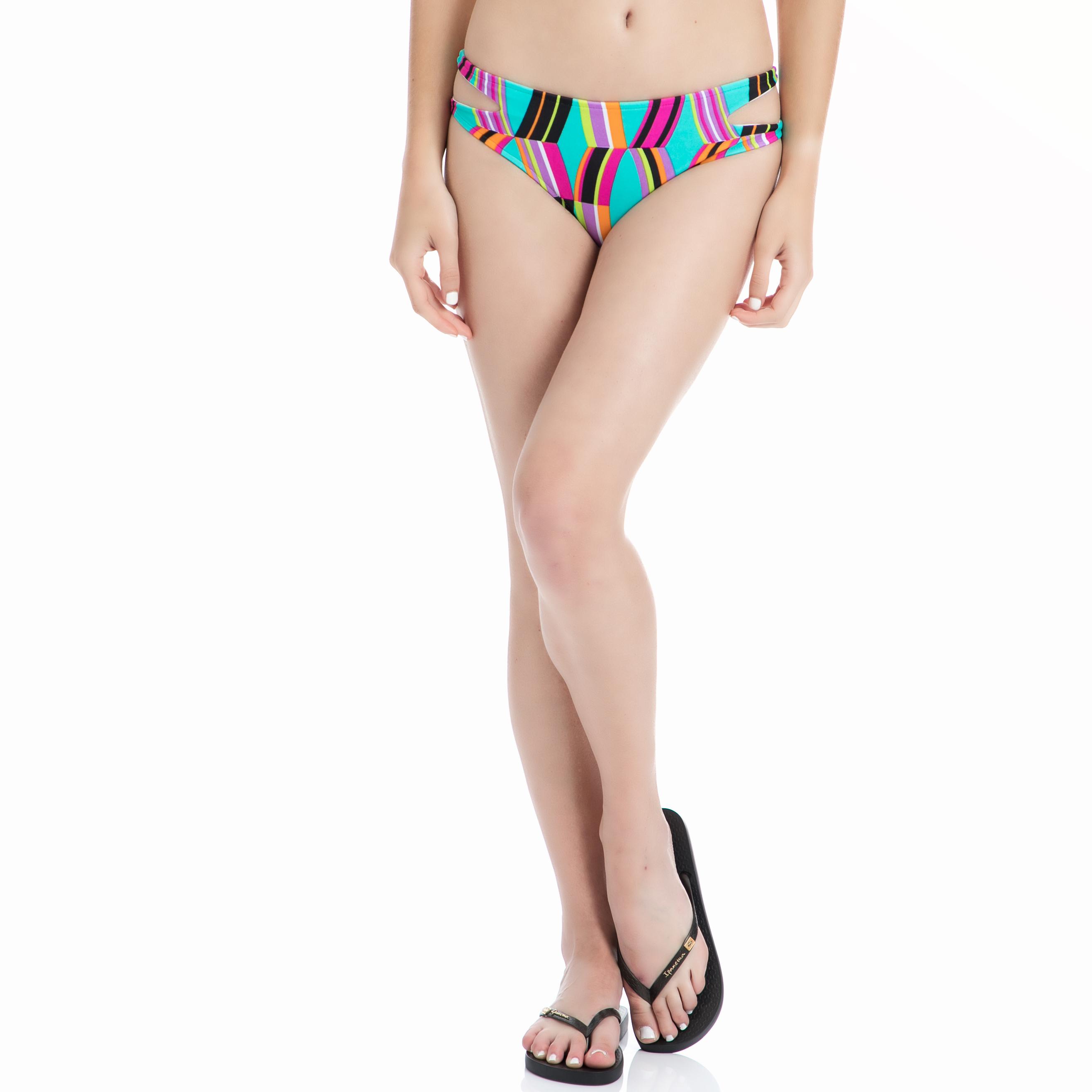 LOCOLOCO BRAZIL - Γυναικείο μαγιό σλιπ LOCOLOCO BRAZIL εμπριμέ γυναικεία ρούχα μαγιό κάτω μερος