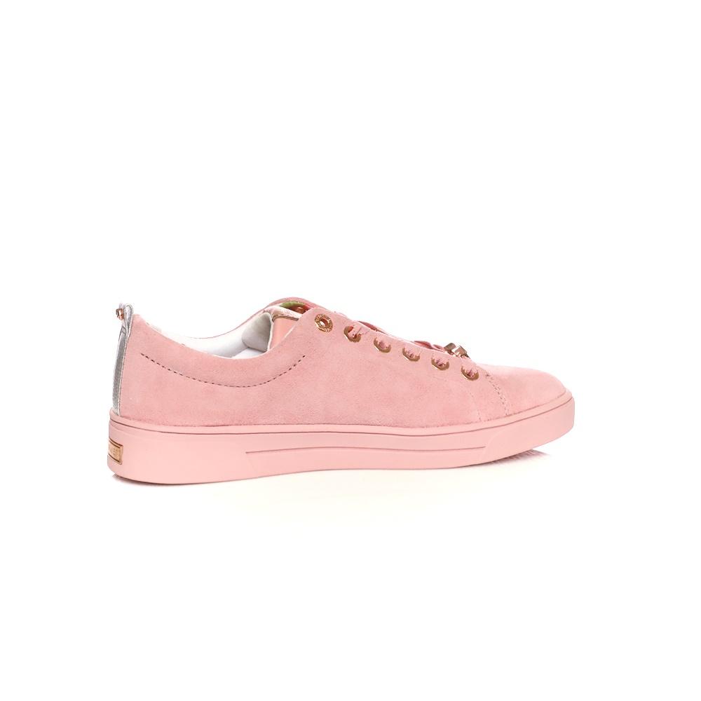 TED BAKER – Γυναικεία suede sneakers Ted Baker KELLEIS ροζ