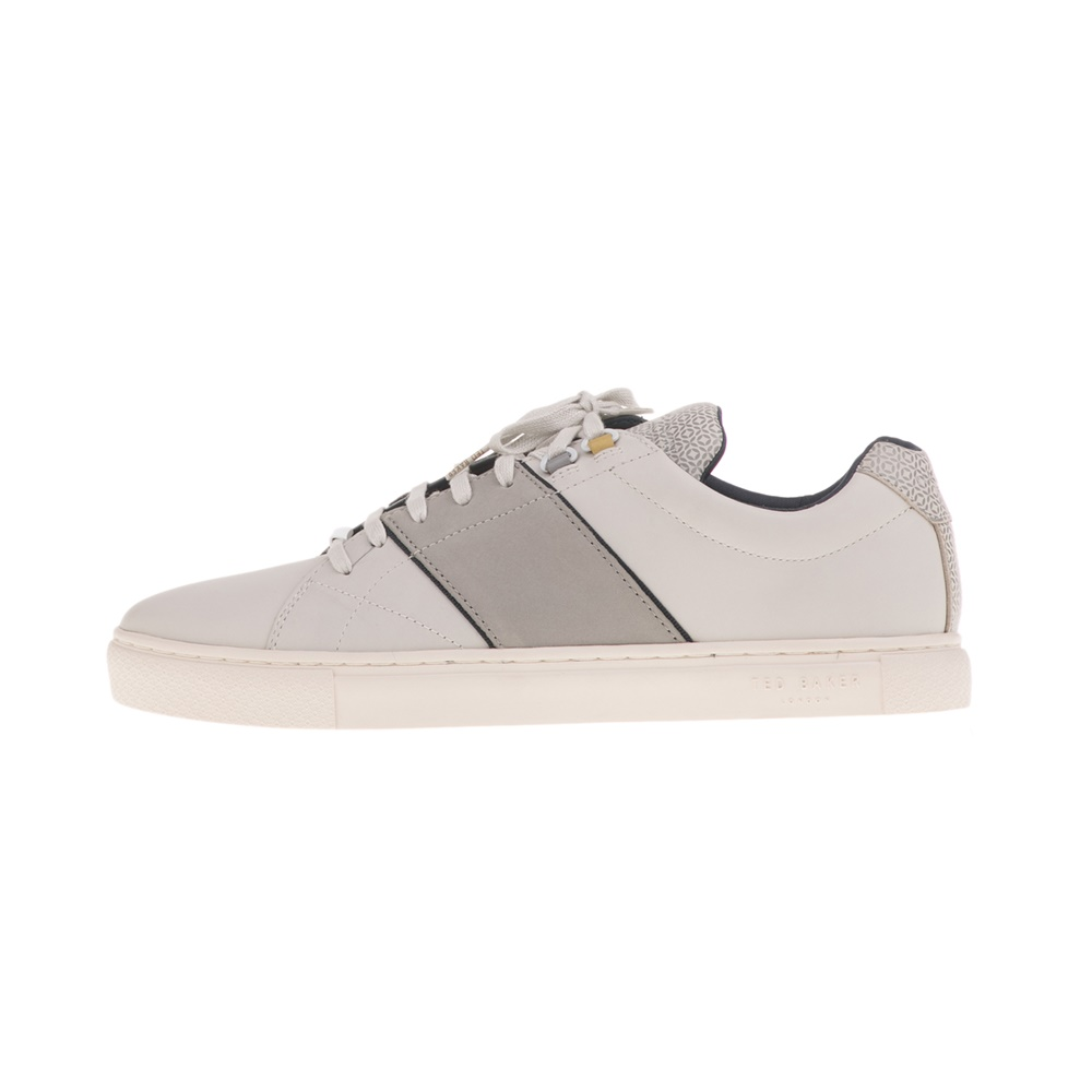 TED BAKER – Ανδρικά sneakers TED BAKER QUANA λευκά