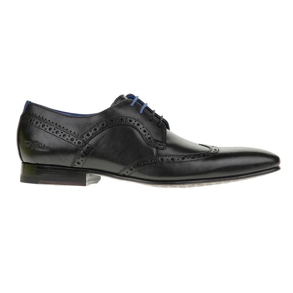 TED BAKER – Ανδρικά δετά παπούτσια OLLIVUR μαύρα