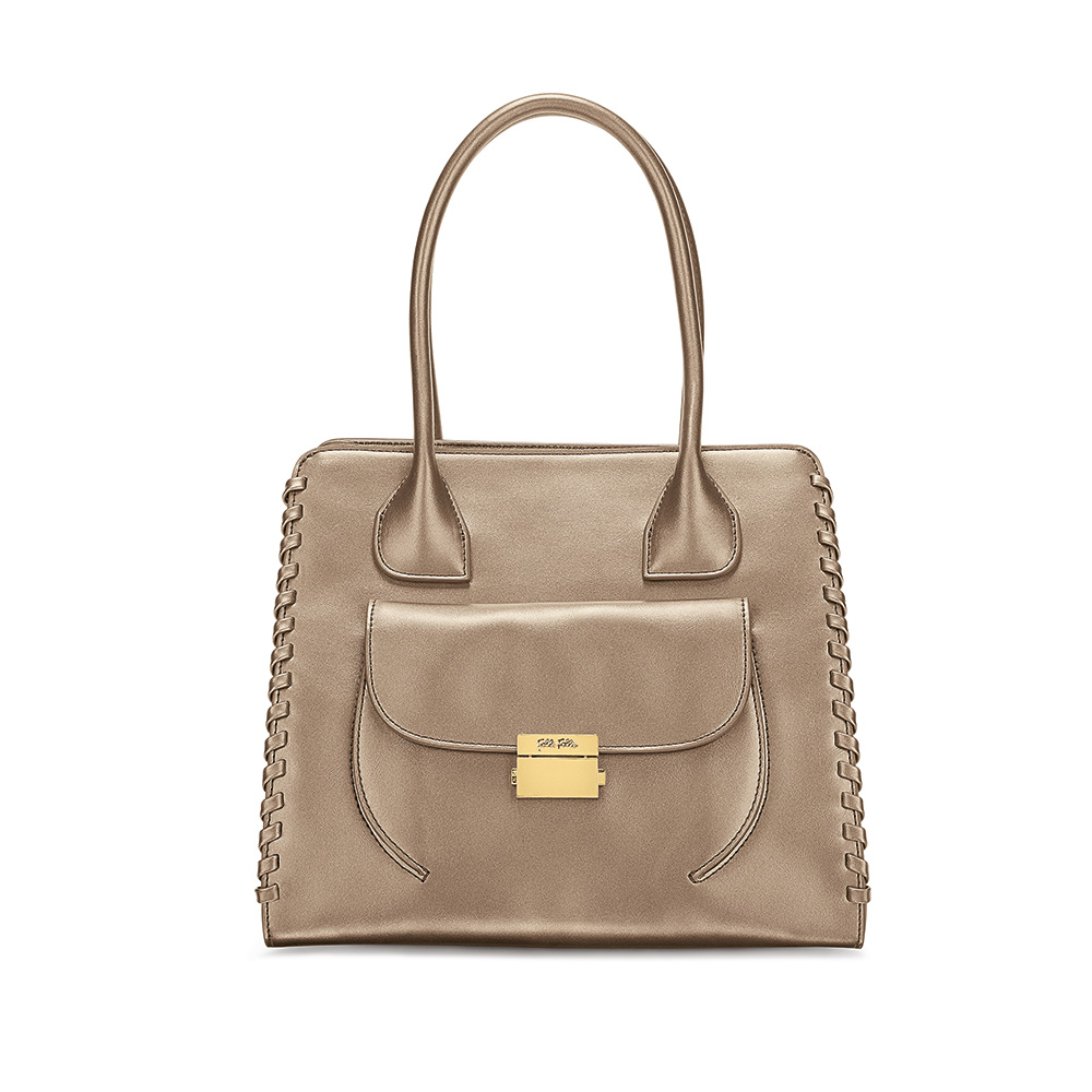 FOLLI FOLLIE – Γυναικεία τσάντα FOLLI FOLLIE χρυσή 1595263.0-0000