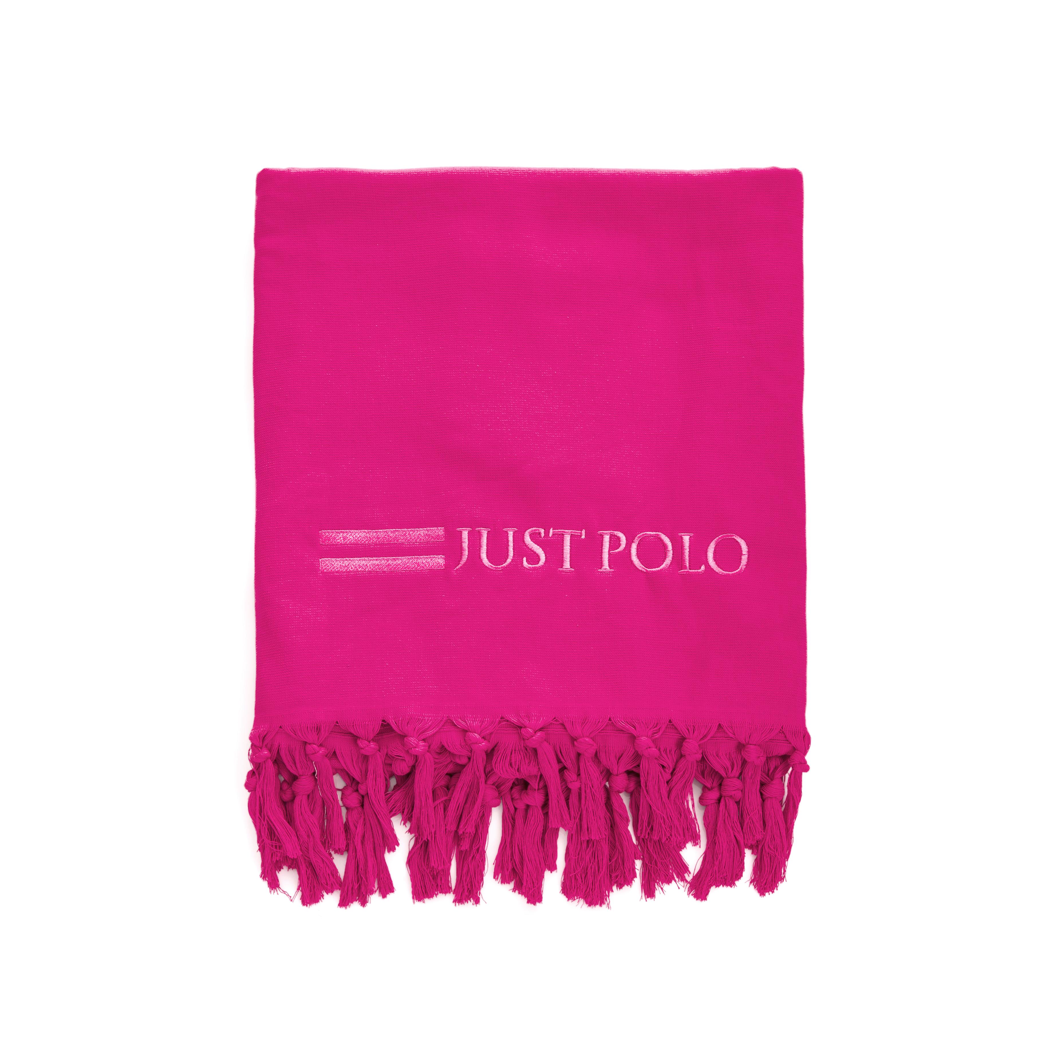 JUST POLO - Πετσέτα θαλάσσης Just Polo φούξια ανδρικά αξεσουάρ πετσέτες