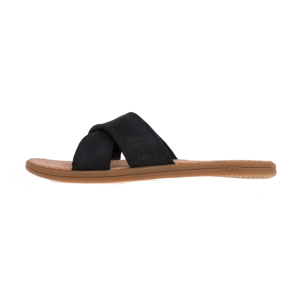 UGG – Ανδρικά σανδάλια SEASIDE SLIDE UGG μαύρα