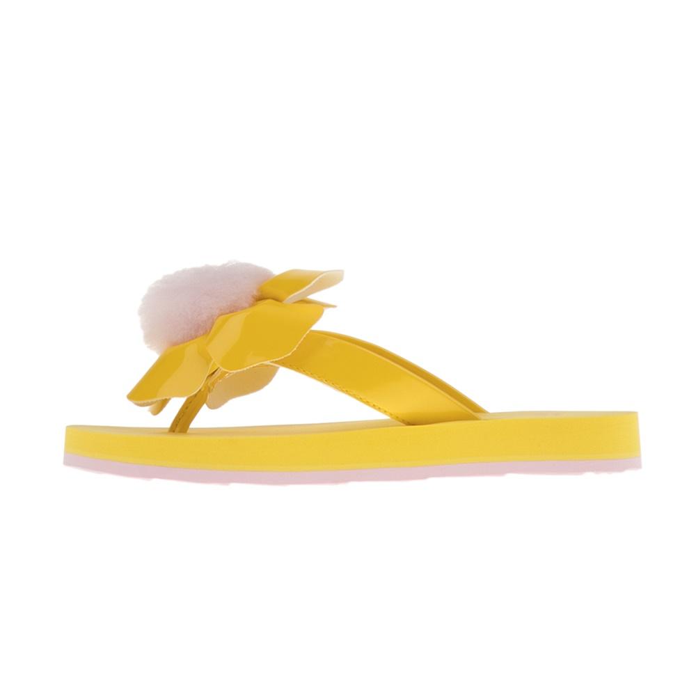 UGG – Παιδικές σαγιονάρες UGG POPPY κίτρινες