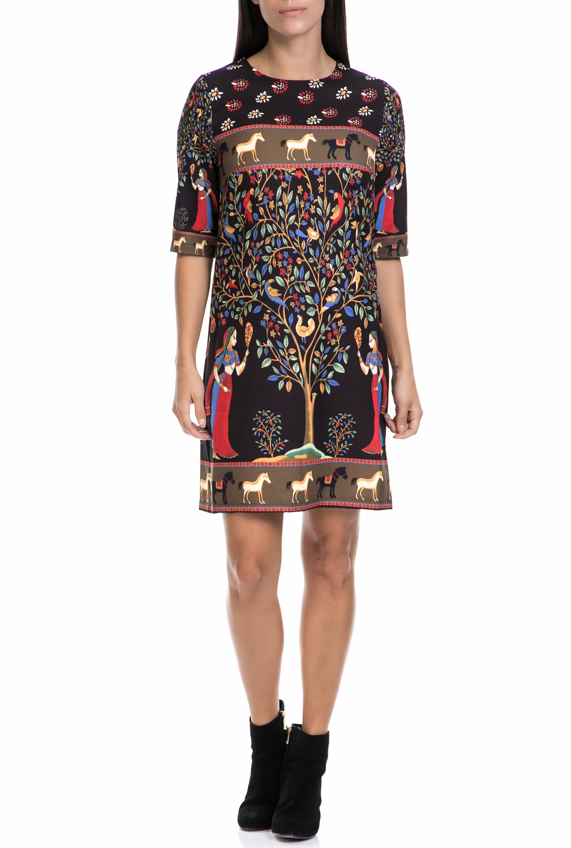 MOLLY BRACKEN - Γυναικείο φόρεμα MOLLY BRACKEN εμπριμέ γυναικεία ρούχα φορέματα μίνι