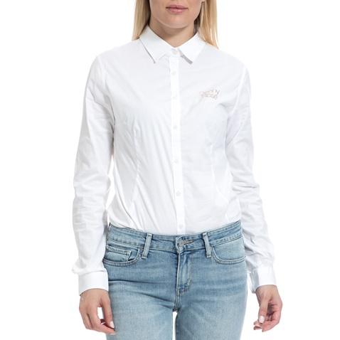 63d442b5f1c7 Γυναικείο πουκάμισο-κορμάκι DENNY ROSE άσπρο (1596966.0-9193 ...