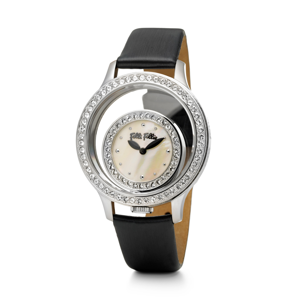 8ac31d189e FOLLI FOLLIE - Γυναικείο ρολόι Folli Follie μαύρο
