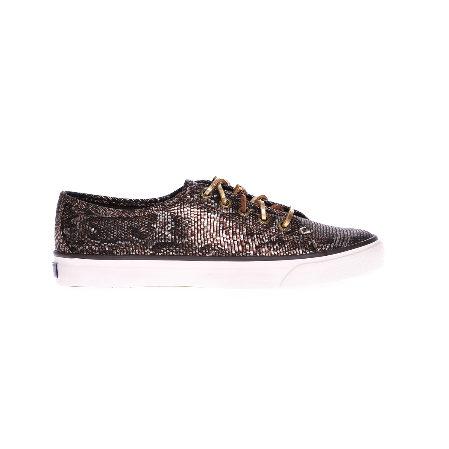 SPERRY – Γυναικεία sneakers SPERRY SEACOAST PYTHON καφέ
