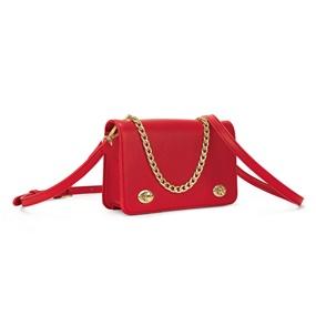 ea59f59e84 FOLLI FOLLIE. Γυναικεία τσάντα χιαστί FOLLI FOLLIE κόκκινη