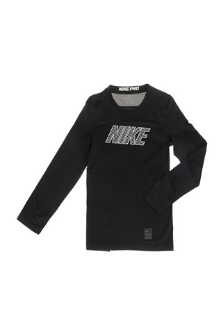 e0ade6387d4 Παιδική μακρυμάνικη μπλούζα NIKE NP TOP LS COMP μαύρη (1599329.1-7191) |  Factory Outlet