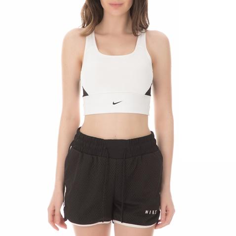 bd965979844 Γυναικείο αθλητικό μπουστάκι NIKE SWOOSH POCKET λευκό-μαύρο ...