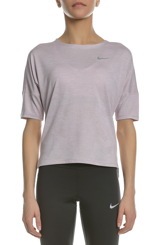 NIKE - Γυναικεία μπλούζα running Nike DRY MEDALIST ροζ γυναικεία ρούχα αθλητικά t shirt τοπ