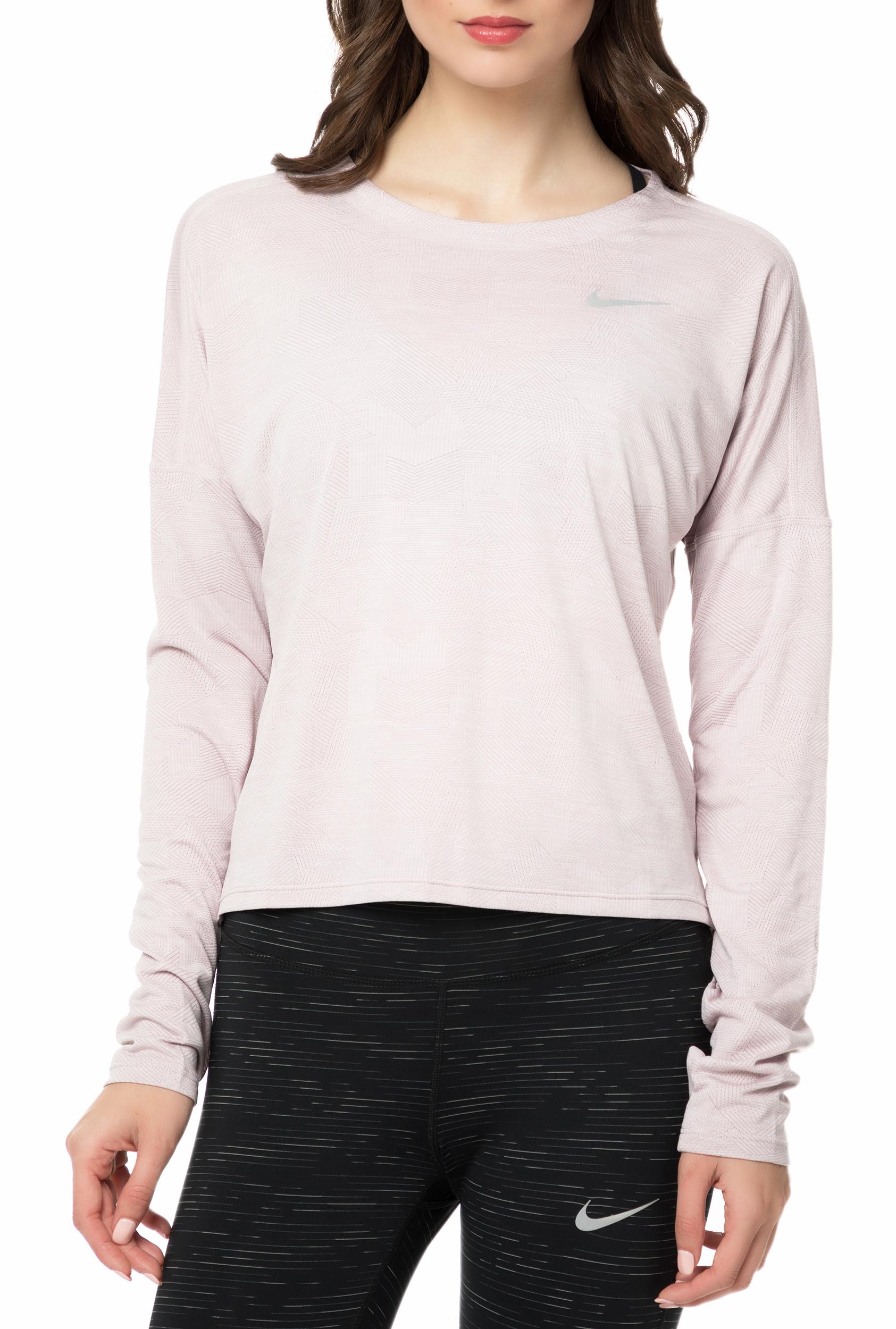 077a1541a5 NIKE - Γυναικεία μακρυμάνικη μπλούζα Nike DRY MEDALIST ροζ
