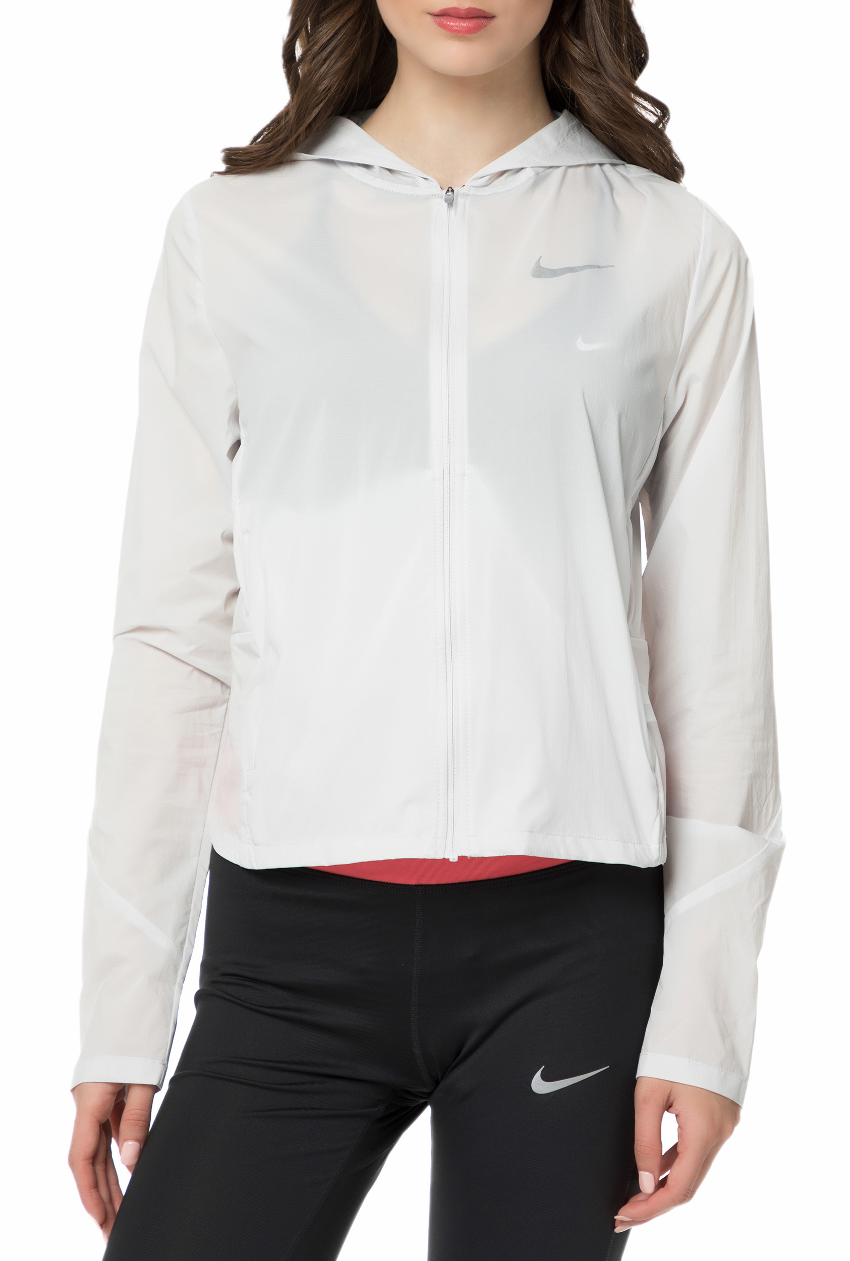 f5aebb3b8df3 Factoryoutlet NIKE - Γυναικείο μπουφάν NIKE SHLD CONVERTIBLE JKT HD λευκό