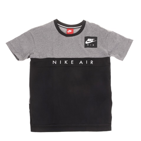 f7269070922e Παιδική κοντομάνικη μπλούζα NIKE AIR TOP μαύρο-γκρι (1599548.1-7871 ...