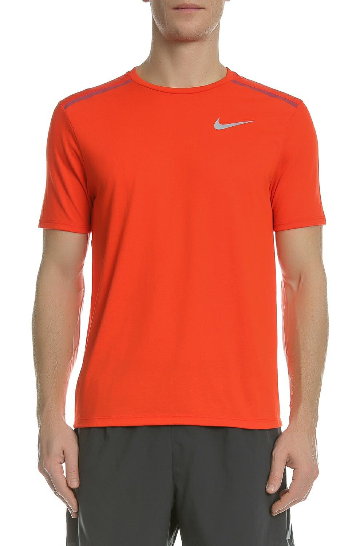 12fb56374749 NIKE - Ανδρική κοντομάνικη μπούζα Nike TAILWIND πορτοκαλί