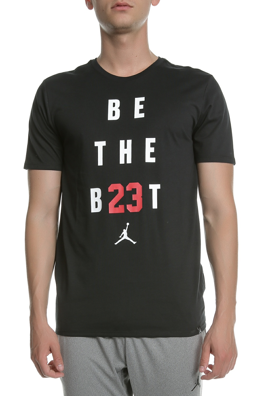 NIKE - Ανδρική κοντομάνικη μπλούζα Nike Air Jordan μαύρη 6588c4d7bfd