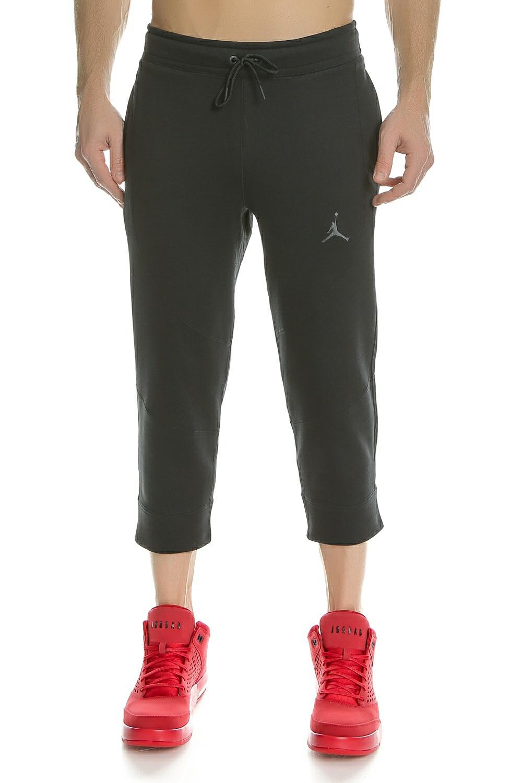 NIKE - Ανδρικό παντελόνι φόρμας 3/4 NIKE AIR JORDAN WINGS μαύρο