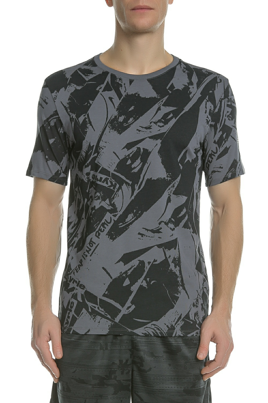 1f934f57ad38 NIKE - Ανδρική κοντομάνικη μπλούζα Nike KYRIE γκρι
