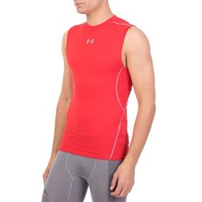 UNDER ARMOUR. Ανδρική αμάνικη μπλούζα UNDER ARMOUR HG COMP TANK SL κόκκινη f4871d037a3