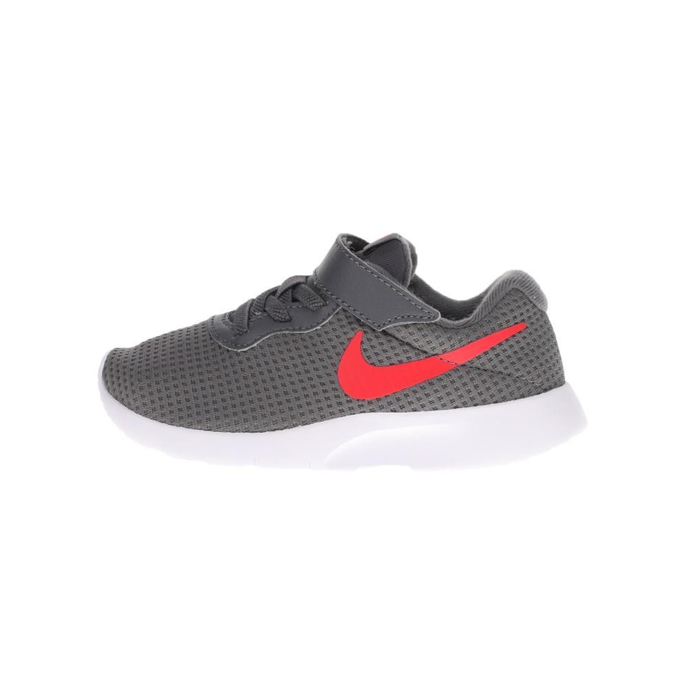 NIKE – Παιδικά αθλητικά παπούτσια NIKE TANJUN (PSV) γκρι κόκκινα
