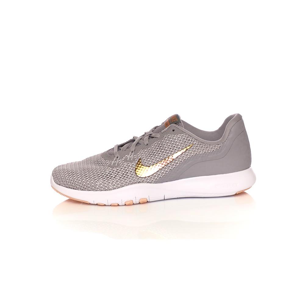 NIKE - Γυναικεία παπούτσια προπόνησης NIKE FLEX TRAINER 7 PRINT γκρι γυναικεία παπούτσια αθλητικά training