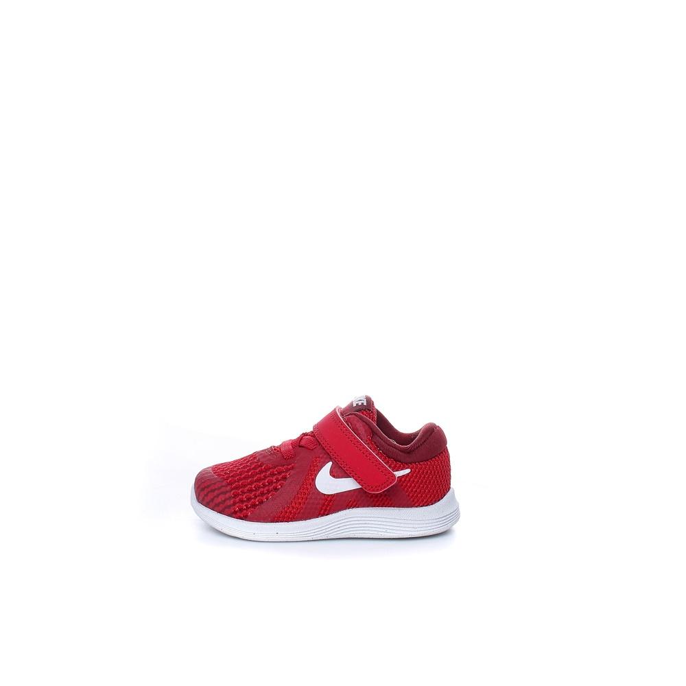 NIKE – Βρεφικά παπούτσια NIKE REVOLUTION 4 (TDV) κόκκινα