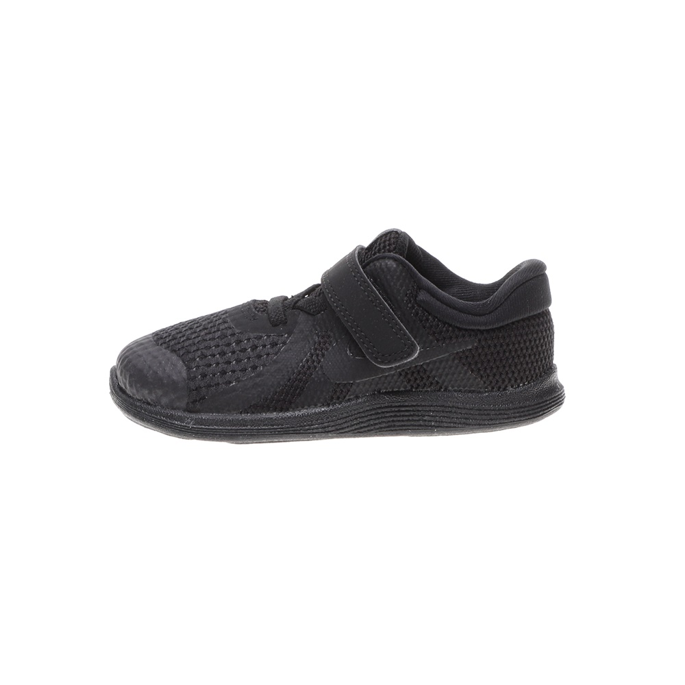 NIKE – Βρεφικά αθλητικά παπούτσια NIKE REVOLUTION 4 (TDV) μαύρα