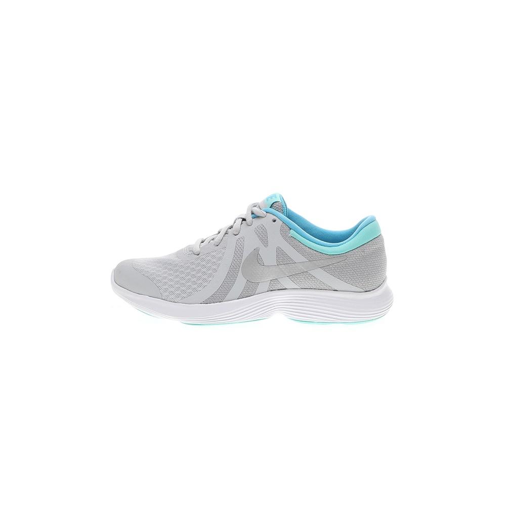 NIKE – Παιδικά παπούτσια running NIKE REVOLUTION 4 (GS) ασημί μπλε