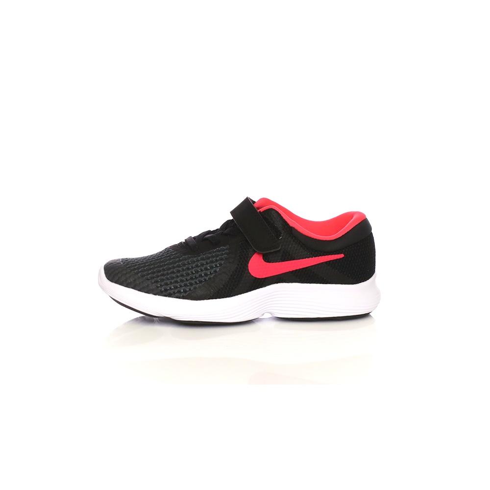 NIKE – Παιδικά παπούτσια NIKE REVOLUTION 4 (PSV) μαύρα