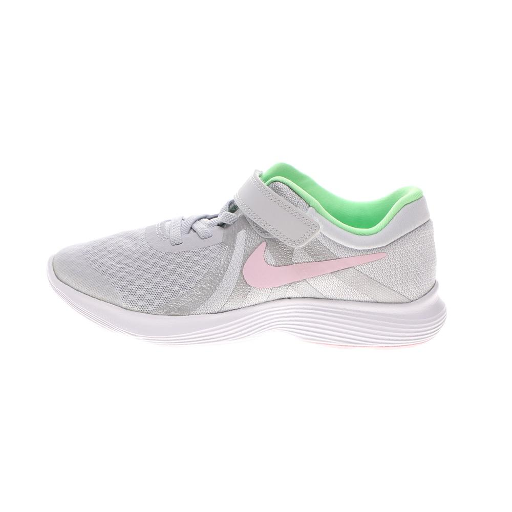 NIKE – Παιδικά αθλητικά παπούτσια NIKE REVOLUTION 4 (PSV) ασημί