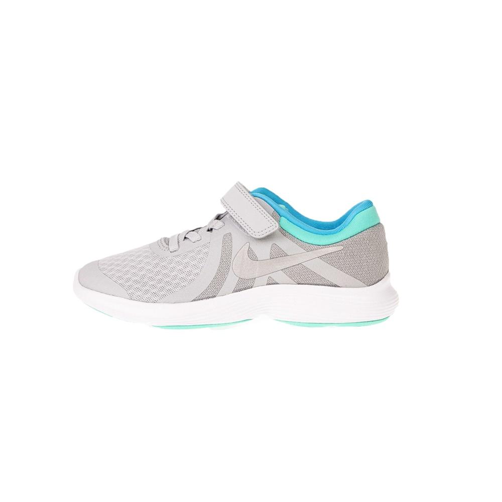 NIKE – Παιδικά παπούτσια NIKE REVOLUTION 4 (PSV) ασημί