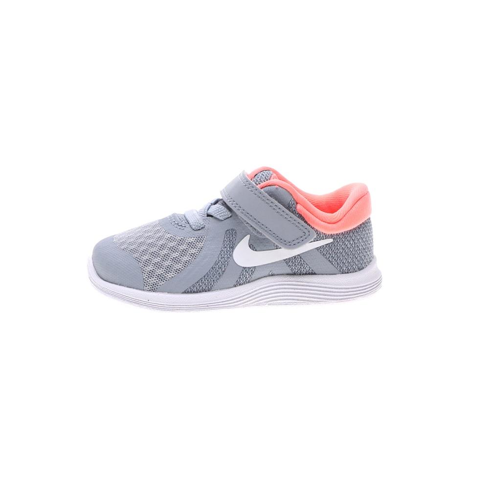 NIKE – Βρεφικά αθλητικά παπούτσια NIKE REVOLUTION 4 (TDV) μπλε ροζ
