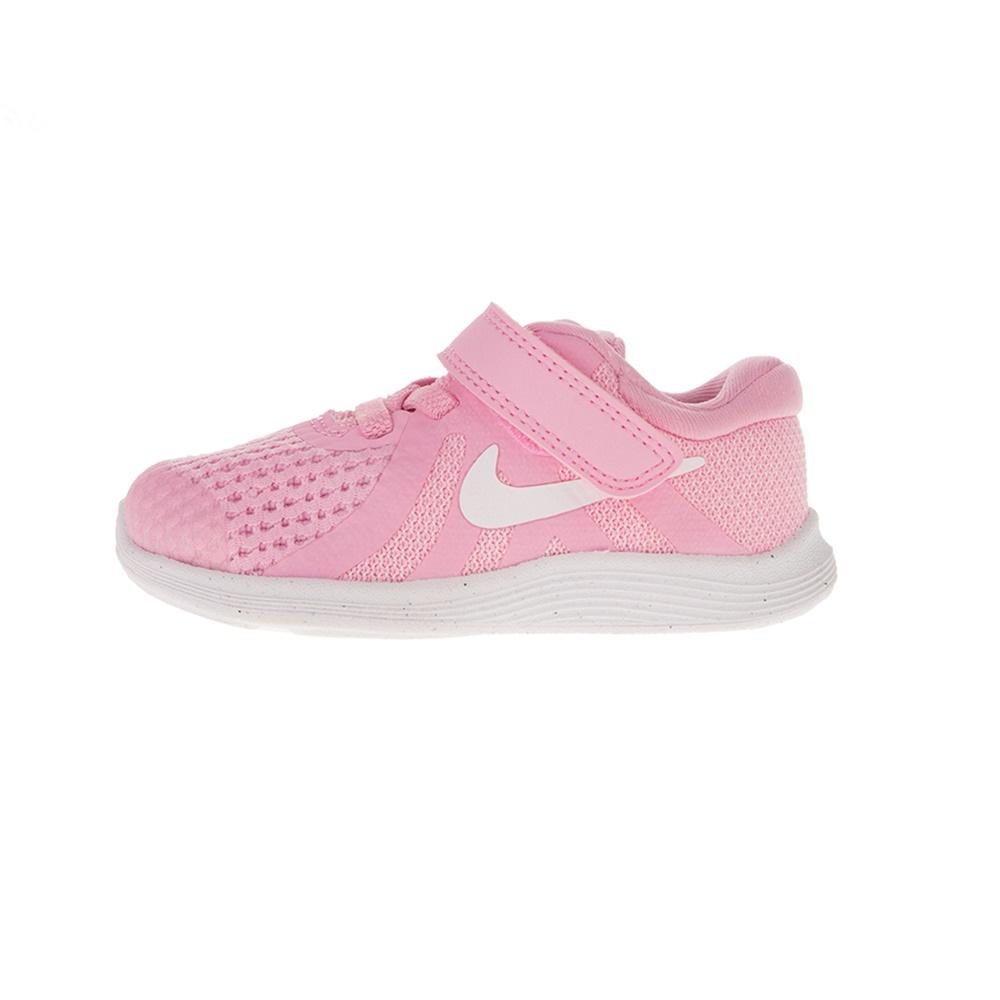 NIKE – Βρεφικά αθλητικά NIKE REVOLUTION 4 (TDV) ροζ