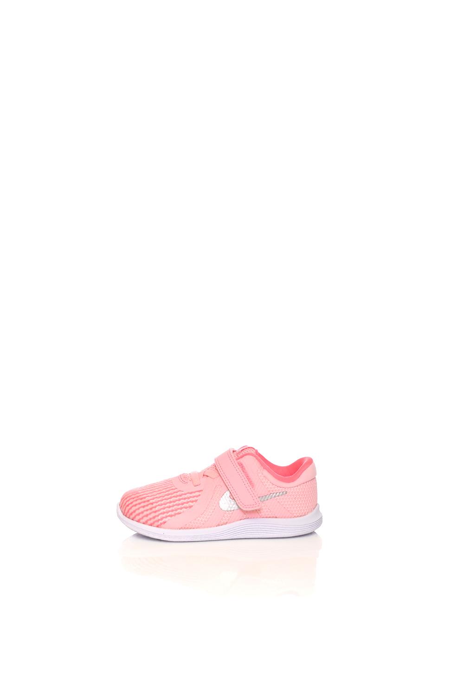 NIKE – Βρεφικά παπούτσια NIKE REVOLUTION 4 (TDV) ροζ