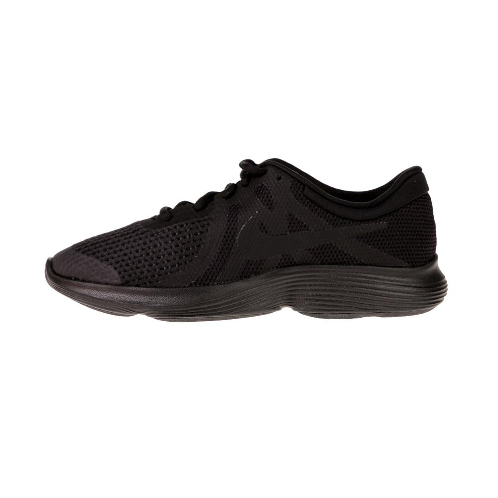 NIKE – Παιδικά παπούτσια NIKE REVOLUTION 4 (GS) μαύρα
