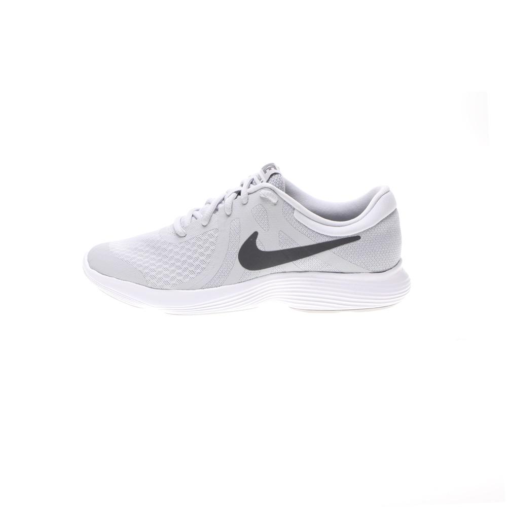 NIKE – Παιδικά αθλητικά παπούτσια NIKE REVOLUTION 4 (DΤV) γκρι ασημί