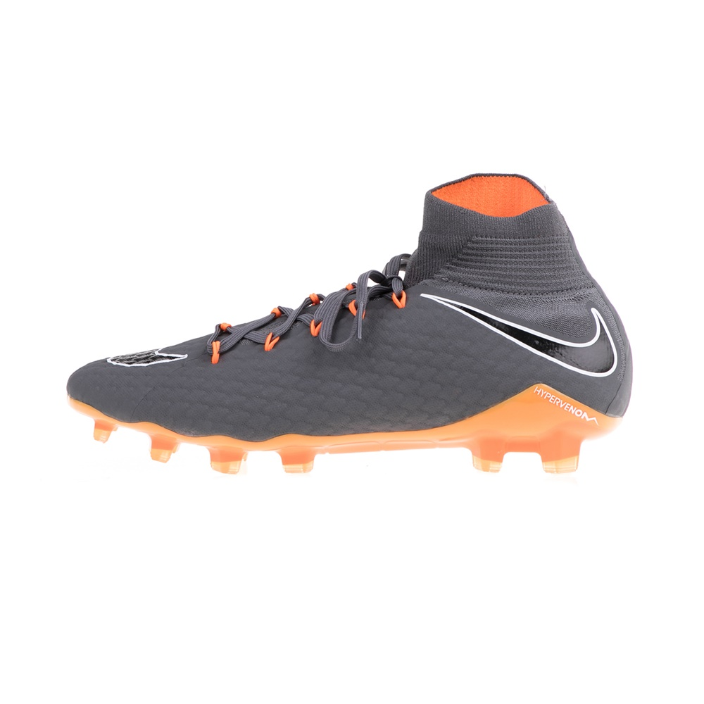 NIKE – Ανδρικά ποδοσφαιρικά παπούτσια PHANTOM 3 PRO DF FG ανθρακί