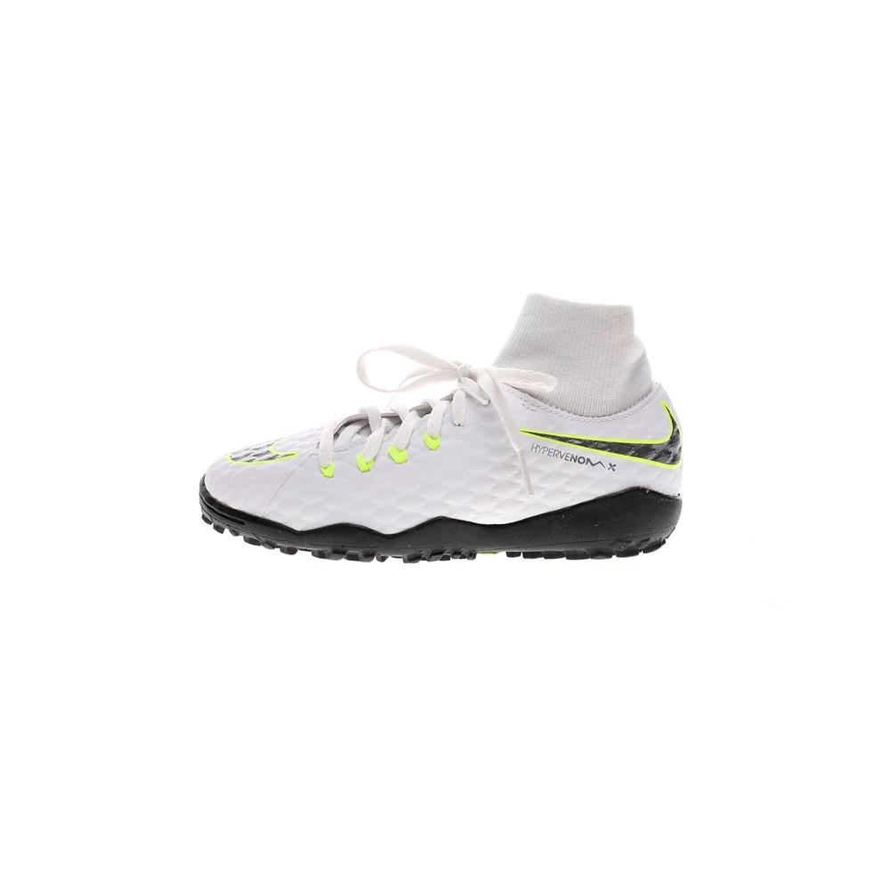 NIKE – Παιδικά ποδοσφαιρικά παπούτσια Nike PHANTOMX 3 ACADEMY DF TF λευκά