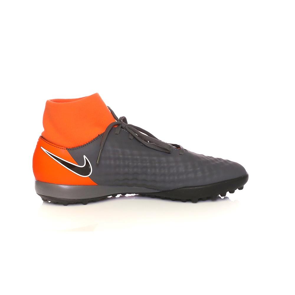 NIKE – Ανδρικά παπούτσια ποδοσφαίρου OBRAX 2 ACADEMY DF TF ανθρακί-πορτοκαλί