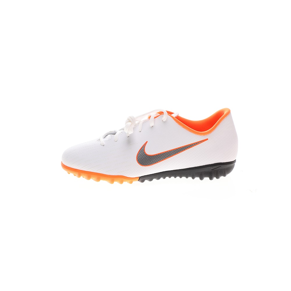 NIKE – Παιδικά παπούτσια ποδοσφαίρου NIKE JR VAPOR 12 ACADEMY GS TF λευκά