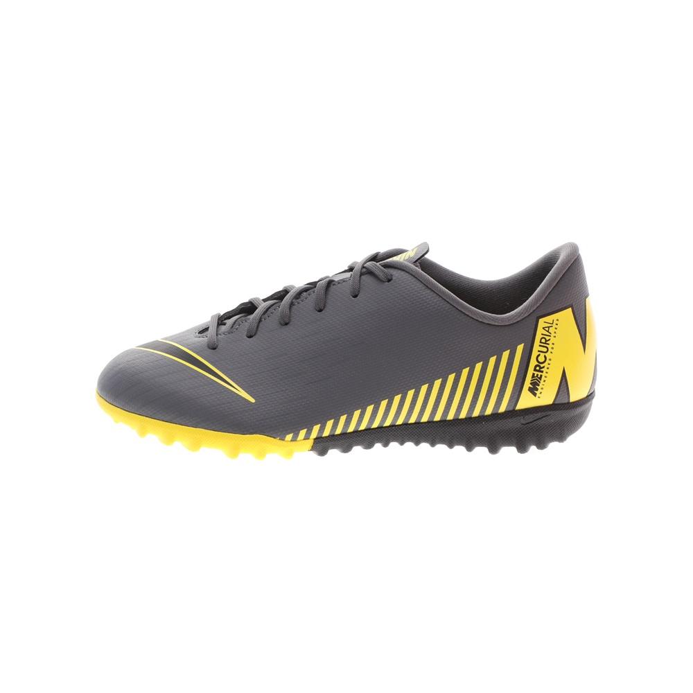 NIKE – Παιδικά παπούτσια ποδοσφαίρου NIKE JR VAPOR 12 ACADEMY GS TF γκρι