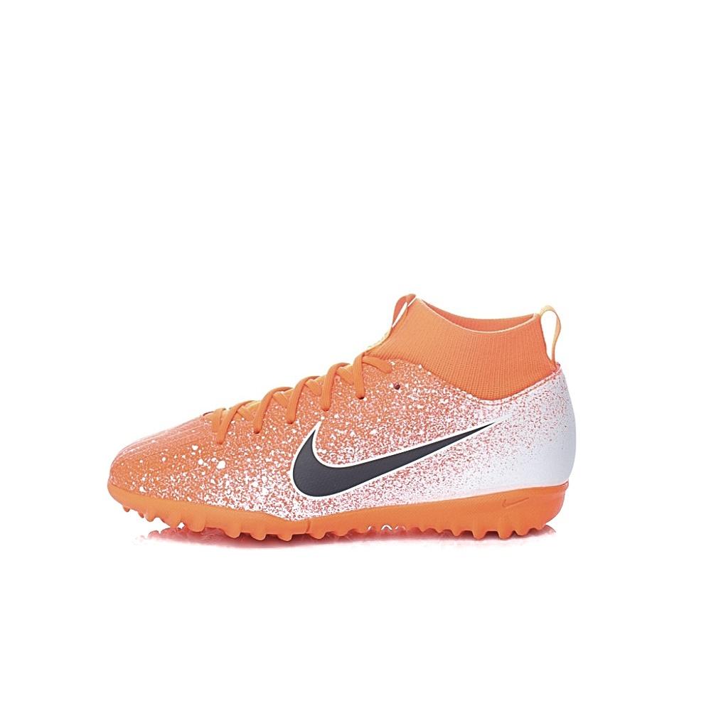 NIKE – Παιδικά ποδοσφαιρικά παπούτσια Nike Jr. SuperflyX 6 Academy πορτοκαλί