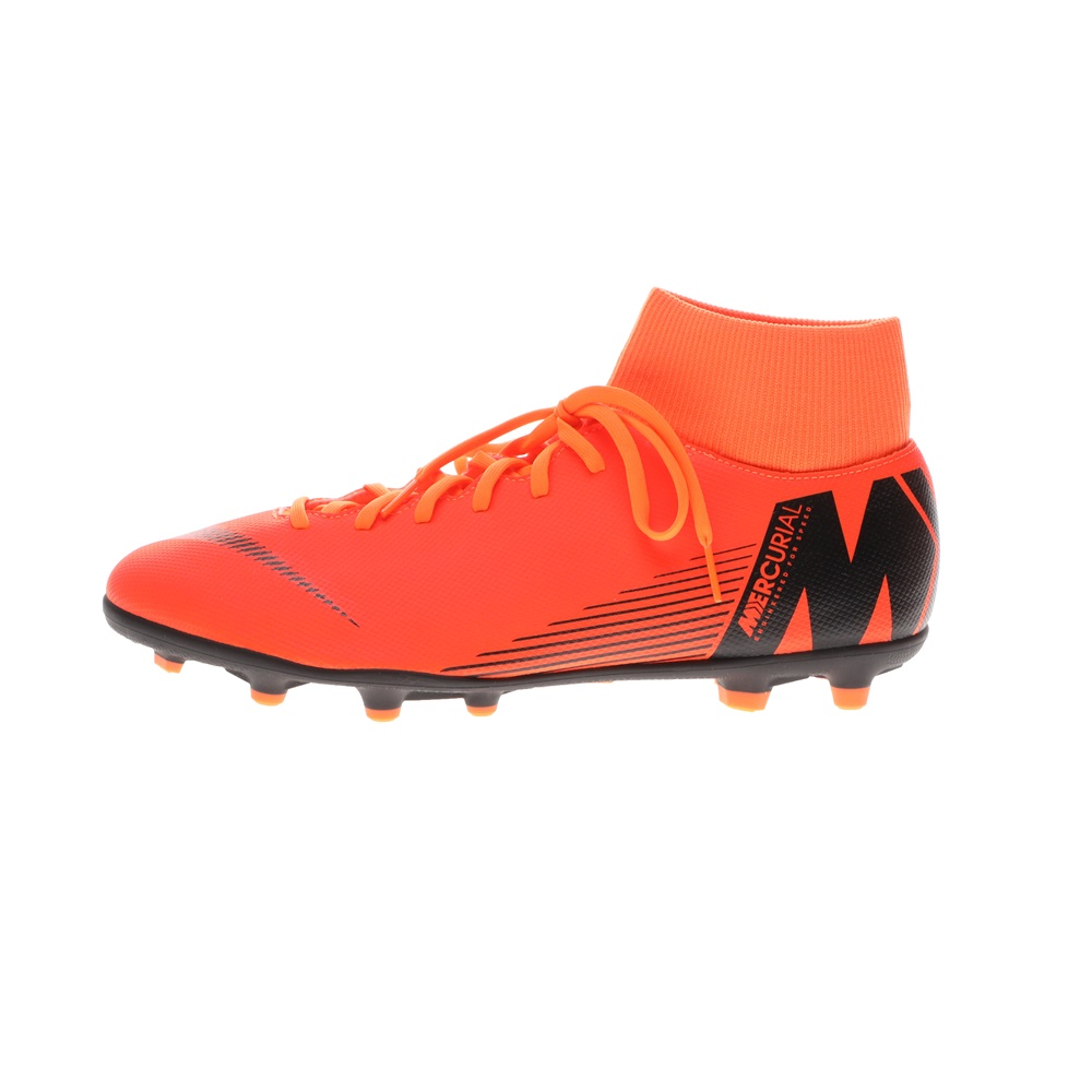 NIKE – Ποδοσφαιρικά παπούτσια SUPERFLY 6 CLUB FG/MG πορτοκαλί