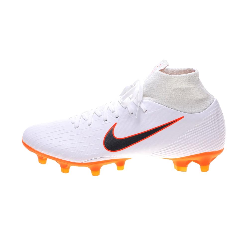 NIKE – Unisex παπούτσια ποδοσφαίρου SUPERFLY 6 PRO AG-PRO λευκά
